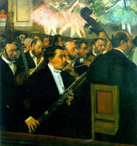 Degas - Orchestra of the Opera